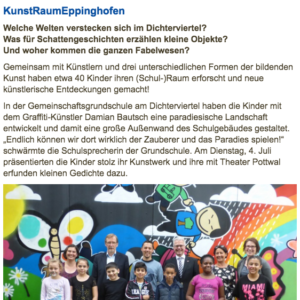 Gruppe von Kindern in Eppinghofen