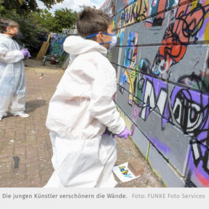 Graffiti workshop in Oberhausen