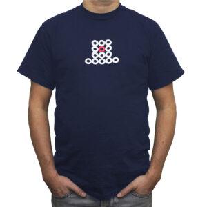 Graffiti Motiv auf T-Shirt