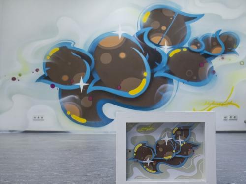 Graffiti freie Arbeit Graffiti Style, Graffiti-Bild