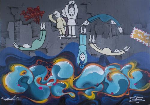 Graffiti Style, Graffiti-Bild