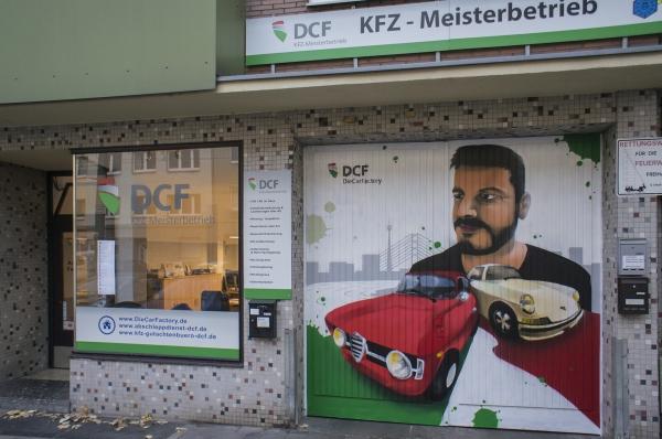 DCF Einfahrt